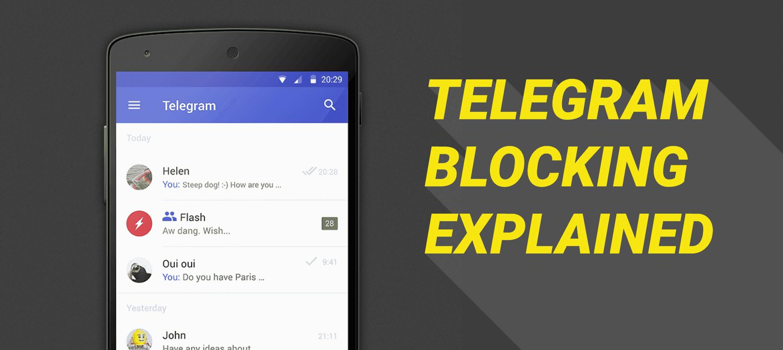 Telegram Blocking Explained